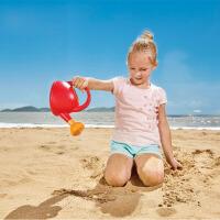 Hape花洒水壶1-6岁儿童沙滩玩具运动户外玩具 红色 绿色