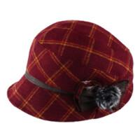 秋冬季棉帽女 鸭舌帽冬季加厚时装盆帽保暖冬帽