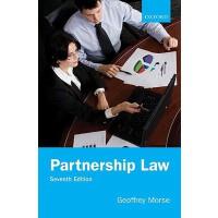 【预订】Partnership Law 9780199576760