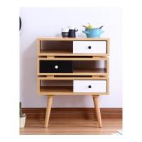 储物柜 简约现代北欧日式客厅小户型多功能组合大容量五斗柜 组装