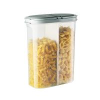 面条收纳盒五谷杂粮厨房储物罐塑料盒子透明食品盒麦片密封罐罐子