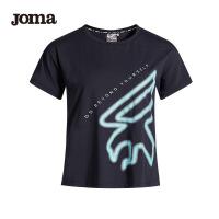 JOMA荷马女士短袖T恤夏季新款运动时尚半袖运动健身舒适上衣满200减40