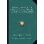 【预订】Translations of the Oxford and Cambridge Latin Prize Po