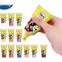 迪士尼儿童手指画 安全无毒可水洗宝宝手指画颜料涂鸦画套装,专业为儿童设计,安全环保,不伤皮肤