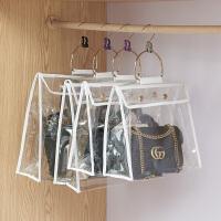 百露透明密封包包防尘袋收纳袋储物袋包衣柜衣橱挂式创意收纳整理