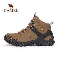 【领券最高满260减80/满390减120】camel骆驼户外登山鞋 男士透气耐磨减震登山鞋