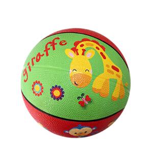 【当当自营】费雪FisherPrice 7寸儿童卡通加厚球防爆橡胶皮球宝宝充气篮球幼儿园玩具儿童玩具(送打气筒)猴子F0515-1