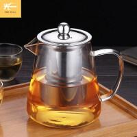 光一玻璃大号泡茶壶过滤家用水壶耐高温防爆茶杯大容量荼具套装单壶