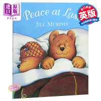 终于睡着了 英文原版 Peace at Last Big Book 儿童绘本 麦克米伦大