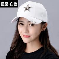 帽子女鸭舌帽韩版夏天时尚棒球帽男潮春学生休闲百搭遮阳帽