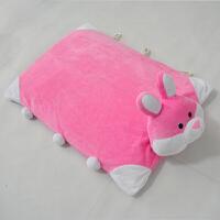 可爱天然卡通动物乳胶枕头儿童枕头单人记忆枕小孩趴趴枕 男友枕定制 兔子乳胶枕头