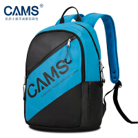 CAMS悬浮减重双肩包青少年初中生双肩背包护脊超轻男女生书包 青蓝色S02202