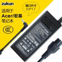 ZUNKUN 适用于宏基笔记本电脑19V 3.42A 电源适配器 5.5X1.7