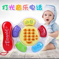 婴幼儿童玩具音乐电话机宝宝0-1-3岁小孩益智手机男女孩6-12个月