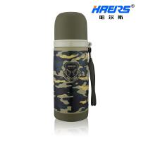 哈尔斯保温杯真空军旅迷彩保温杯 HB-350FAX-1 350ml