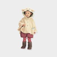 【年货节99元任选3件】罗町婴儿外出披风斗篷婴童外套抱被冬季夹棉加厚连帽保暖款外出服