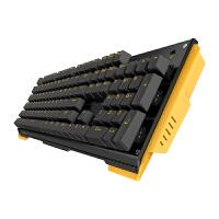 贝戋马户(james donkey)贱驴619打滚金属机械键盘青轴黑轴104键盘