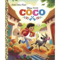 英文原版 寻梦环游记:金色童书 Coco Little Golden Book (Disney/Pixar Coco)