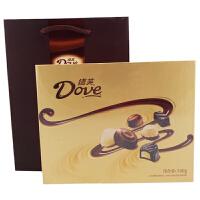 德芙(Dove) 多种口味巧克力 精心之选 140g 礼盒装 办公室休闲零食