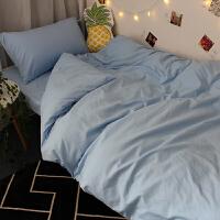 床单三件套学生宿舍单人男寝室少女心ins网红被套四件套床上用品