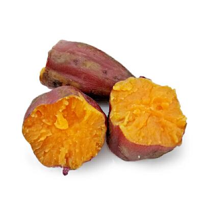 【包邮】广西西瓜红迷你蜜薯5斤装单果70-200g沙地现挖 无丝西瓜红番薯