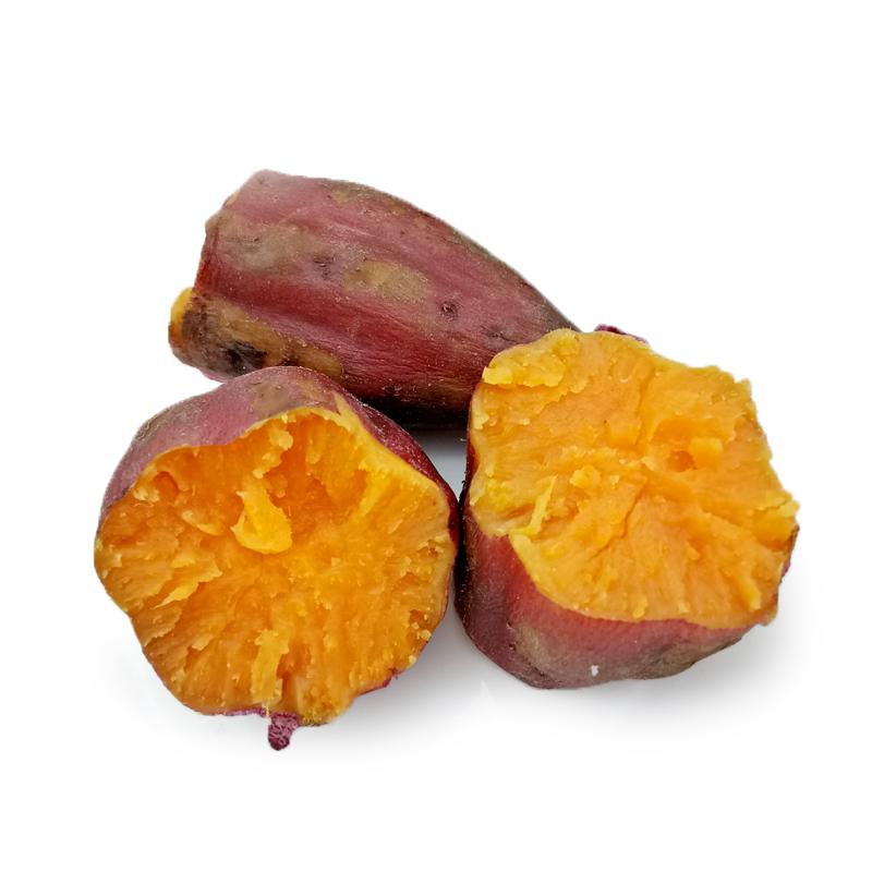【包邮】乐食汇广西西瓜红迷你蜜薯5斤装单果70-200g沙地现挖 无丝西瓜红番薯