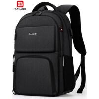 巴朗新款高中大学生书包大容量15.6寸电脑包商务背包男韩版双肩包