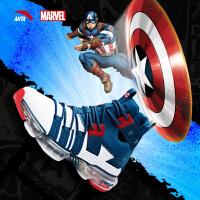 安踏漫威联名款男鞋美国队长SEEED系列NASA60th纪念款鞋御空篮球鞋休闲鞋