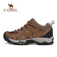 camel骆驼户外登山鞋 男士防滑减震耐磨高帮徒步登山鞋