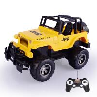 【当当自营】双鹰牧马人1:18手柄遥控模型车越野车吉普充电车模型黄色E651-005