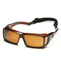 户外运动登山太阳眼镜墨镜可绑带 男女近视可用偏光