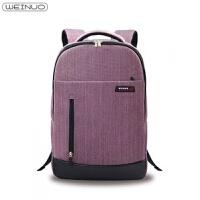 苹果戴尔华硕电脑双肩包15.6寸14寸17寸男女笔记本背包休闲旅行包 14寸
