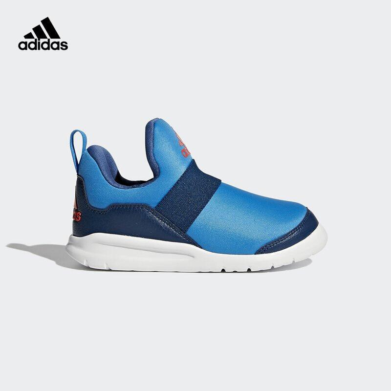 【到手价:199.5元】阿迪达斯(adidas)童鞋新款男女小童海马运动休闲鞋CG3262 蓝色