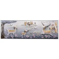 201908150305022903D立体浮雕装饰画客厅沙发背景墙挂画现代简约大气壁画欧式墙画 70*220