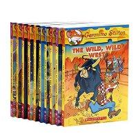 老鼠记者套装(21-30) 10册 英文原版 Geronimo Stilton经典儿童小说 章节书