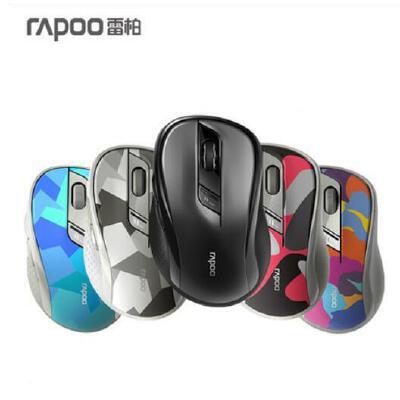 雷柏M500无线静音无声蓝牙鼠标4.0光电台式MAC电脑笔记本商务办公游戏 静音蓝牙无线 同时连接3台设备