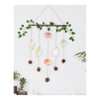墙壁装饰挂件 房间卧室壁挂创意植物挂饰餐厅幼儿园墙面墙上装饰品 树叶明信片套餐二