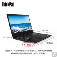 ThinkPad 联想 E480 20KNA01ACD 14英寸商务便携笔记本电脑 i3-7020U 4G内存256G