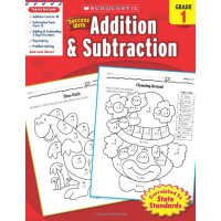 Scholastic Success with Addition & Subtraction, Grade 1 学乐成