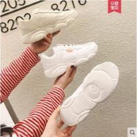 小白鞋女新款网红小熊智熏超火山本学生ins老爹运动鞋子