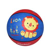 【当当自营】费雪FisherPrice 7寸儿童卡通加厚球防爆橡胶皮球宝宝充气篮球幼儿园玩具儿童玩具(送打气筒)狮子F