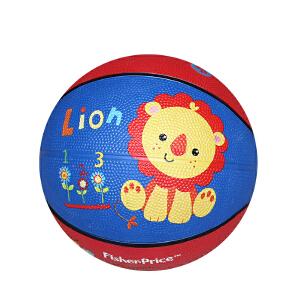 【当当自营】费雪FisherPrice 7寸儿童卡通加厚球防爆橡胶皮球宝宝充气篮球幼儿园玩具儿童玩具(送打气筒)狮子F0515-2