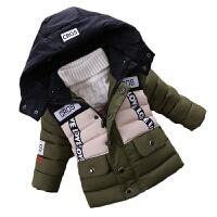 宝宝装男童棉衣加厚小儿童羽绒保暖外套婴儿棉袄潮