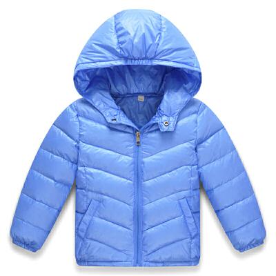 装儿童羽绒服男女童轻薄款宝宝加绒保暖外套中大童小孩连帽短款 发货周期:一般在付款后2-90天左右发货,具体发货时间请以与客服协商的时间为准