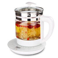 养生壶全自动加厚玻璃多功能电热烧水壶花茶壶迷你煮茶器养身