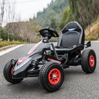 儿童电动车四轮卡丁车可坐男女宝宝遥控玩具汽车充气轮小孩摩托车