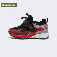 【3件3折价:107.7】巴拉巴拉男童登山鞋儿童运动鞋2019新款冬季时尚小童鞋防滑保暖潮