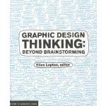 【现货】英文原版 平面设计思维 Graphic Design Thinking: Beyond Brainstormi
