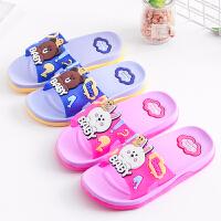 夏季儿童拖鞋大中小儿童凉拖鞋可爱卡通男女童居家一家三口亲子鞋