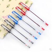 圆珠笔 香味原子笔 0.38mm 半针管中性笔 财务 学生办公圆珠笔 一盒12支 黑色蓝色红色可选